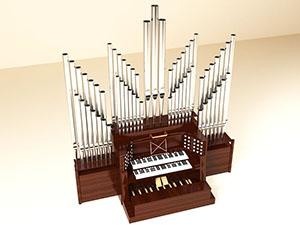 Pipe organ 300
