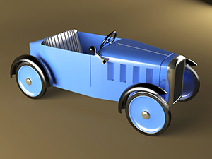 pedal car 300