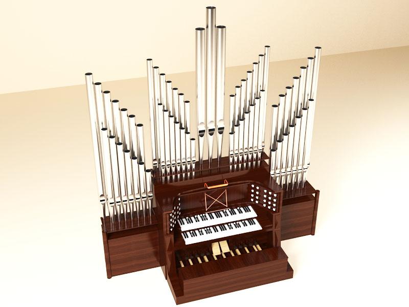 Pipe organ 800