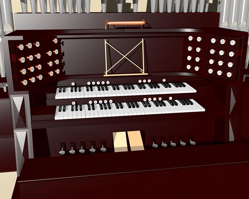 Pipe organ 800a